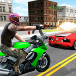 Highway Death Moto- New Bike Attack Race Game 3D 1.0.2 (MOD, Unlimited Money)