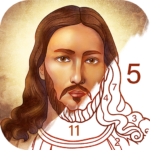 Bible Coloring – Paint by Number, Free Bible Games 2.22.0 (MOD, Unlimited Money)
