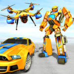 Drone Robot Car Game – Robot Transforming Games 1.2.2 (MOD, Unlimited Money)