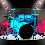Drum Hero (rock music game, tiles style) v2.4.8  (MOD, Unlimited Money)