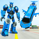 Flying Limo Robot Car Transform: Police Robot Game 1.0.18 (MOD, Unlimited Money)