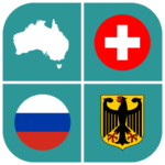 Geography Quiz – flags, maps & coats of arms 1.5.28  (MOD, Unlimited Money)