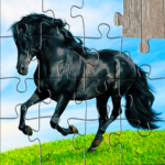Horse Jigsaw Puzzles Game – For Kids & Adults 🐴 27.5   (MOD, Unlimited Money)