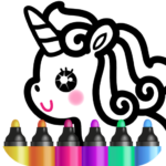 Kids Drawing Games for Girls 🎀 Apps for Toddlers!  (MOD, Unlimited Money)