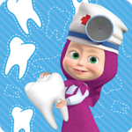 Masha and the Bear: Free Dentist Games for Kids 1.3.5 (MOD, Unlimited Money)