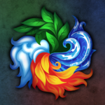 Masters of Elements-CCG game + online arena & RPG 6.6.9  (MOD, Unlimited Money)