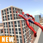 Miami Rope Hero Spider Open World City Gangster 1.0.26  (MOD, Unlimited Money)