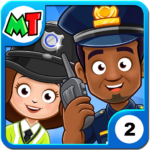 My Town : Police Station. Policeman Game for Kids 3.00  (MOD, Unlimited Money)