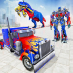 Police Truck Robot Game – Transforming Robot Games  1.2.9 (MOD, Unlimited Money)