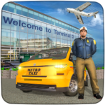Real Taxi Airport City Driving-New car games 2020 1.8 (MOD, Unlimited Money)