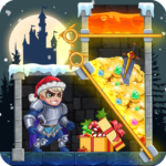 Rescue Hero: Pull The Pin – Christmas Game 1.80  (MOD, Unlimited Money)