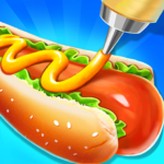 Street Food Stand Cooking Game for Girls 1.6  (MOD, Unlimited Money)