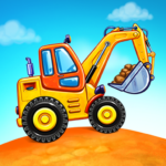 Truck games for kids – build a house, car wash 6.3.0 (MOD, Unlimited Money)