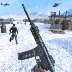 Action shooting games : Commando Games 4.60  (MOD, Unlimited Money)