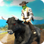 Angry Bull Attack – Cowboy Racing 1.3 (MOD, Unlimited Money)