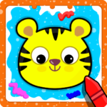 Animal Sounds for babies & Coloring book for kids 1.20 (MOD, Unlimited Money)