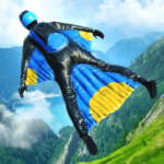 Base Jump Wing Suit Flying  1.2  (MOD, Unlimited Money)