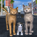 Cat Family Simulator: Stray Cute Kitty Game 10.1 (MOD, Unlimited Money)