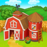 Farm Town: Happy village near small city and town v3.45  (MOD, Unlimited Money)