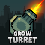 Grow Turret – Idle Clicker Defense 7.6.7  (MOD, Unlimited Money)