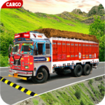 Indian Real Cargo Truck Driver -New Truck Games 21  1.65 (MOD, Unlimited Money)