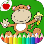 Jungle Animals Coloring Book 9 (MOD, Unlimited Money)