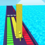Tower Stack colors kick-Collect cubes tower run 1.0.9 (MOD, Unlimited Money)