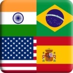 Flags Quiz Gallery : Quiz flags name and color Flag 1.0.206  (MOD, Unlimited Money)