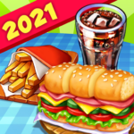 Hell's Cooking: crazy burger, kitchen fever tycoon  1.90 (MOD, Unlimited Money)