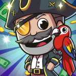 Idle Pirate Tycoon 1.5.3  (MOD, Unlimited Money)