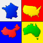 Maps of All Countries in the World: Geography Quiz 3.1.0 (MOD, Unlimited Money)