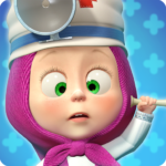 Masha and the Bear: Free Animal Games for Kids 4.0.6  (MOD, Unlimited Money)