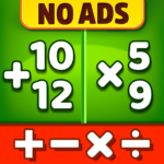 Math Games – Addition, Subtraction, Multiplication 1.1.8  (MOD, Unlimited Money)