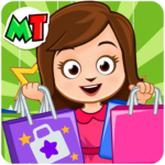 My Town: Shopping Mall – Shop & Dress Up Girl Game 1.15   (MOD, Unlimited Money)