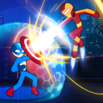Stickman Fighter Infinity – Super Action Heroes 0.0.3  (MOD, Unlimited Money)