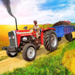 Tractor Trolley Drive Offroad Cargo: Tractor Games 1.0.8 (MOD, Unlimited Money)