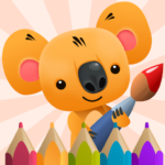 Сoloring Book for Kids with Koala 3.3 (MOD, Unlimited Money)