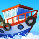Fish idle: hooked tycoon. Your own fishing boat 4.0.13  (MOD, Unlimited Money)