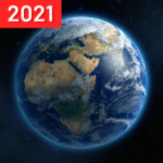 Live Earth Map 2021 with GPS Navigation FM 1.1.1 (MOD, Unlimited Money)