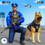 Police Dog Airport Crime Chase : Dog Games 3.4 (MOD, Unlimited Money)