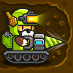 Popo's Mine – Idle Mineral Tycoon 1.4.5   (MOD, Unlimited Money)