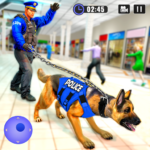 US Police Dog Shopping Mall Crime Chase 2021 4.1  (MOD, Unlimited Money)