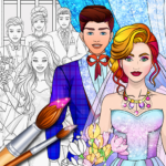 Wedding Coloring Dress Up 1.8 (MOD, Unlimited Money)
