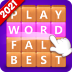 Word Fall – Brain training search word puzzle game 3.2.5  (MOD, Unlimited Money)