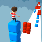 Cube Stacker Surfer 3D – Run Free Cube Jumper Game  (MOD, Unlimited Money) 1.45