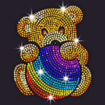 Diamond Coloring – Sequins Art & Paint by Numbers 1.5.4  (MOD, Unlimited Money)