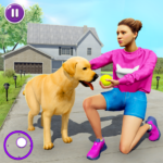 Family Pet Dog Home Adventure Game  (MOD, Unlimited Money) 1.2.7