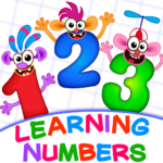 Learning numbers for kids! Writing Counting Games!  (MOD, Unlimited Money) 2.0.2.5