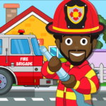 Pretend my Fire Station: Town Firefighter Life 1.4 (MOD, Unlimited Money)