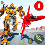 Air Robot Game – Flying Robot Transforming Plane   2.2 (MOD, Unlimited Money)